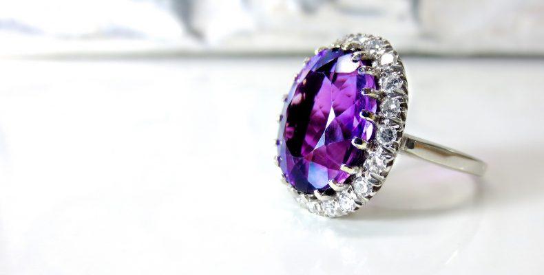 biżuteria z ametystem